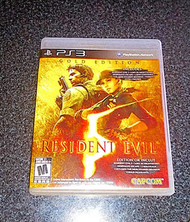 Resident Evil 5 Físico Usado Ps3 (impecable)