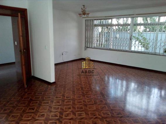 Casa Com 3 Dormitórios Para Alugar, 350 M² Por R$ 5.300/mês - Planalto Paulista - São Paulo/sp - Ca0085