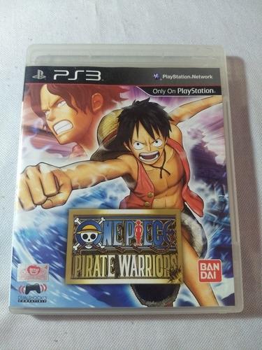 One Piece Pirate Warriors Ps3 Mídia Física - Pronta Entrega