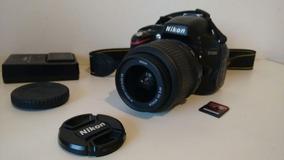 Câmera Nikon D5100 Seminova + Lente + Case + Cartão 64gb