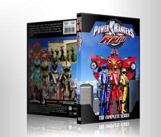 Dvds Power Rangers Rpm Série Completa
