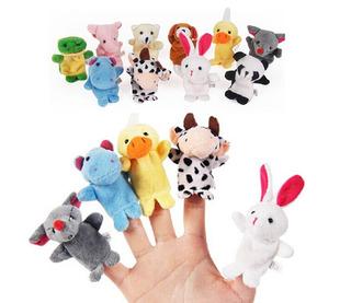 Marionetas X10 Titeres Dedos Didacticas Aprendizaje Lenguaje