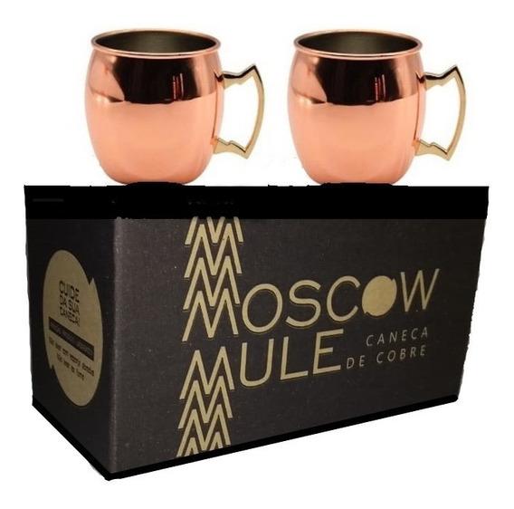 Caneca De Cobre Moscow Mule 500 Ml Artecobre