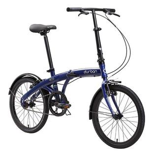Bicicleta Portátil Dobrável Leve Eco Durban Aro 20