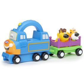 Veículo Handle Haulers - Trenzinho Big Top Charlie - Little