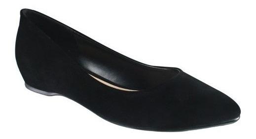 Sapato Feminino Azaleia Ref.533/807 Preto Camurça
