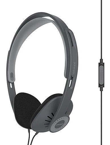 Fone De Ouvido Headphone Koss Kph 30i Black Preto