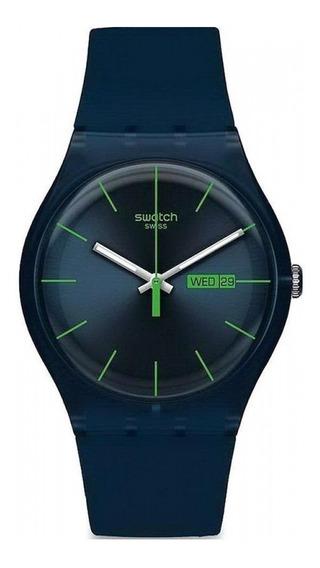 Reloj Swatch Hombre Blue Rebel Suon700 Envio Gratis Garantia Oficial