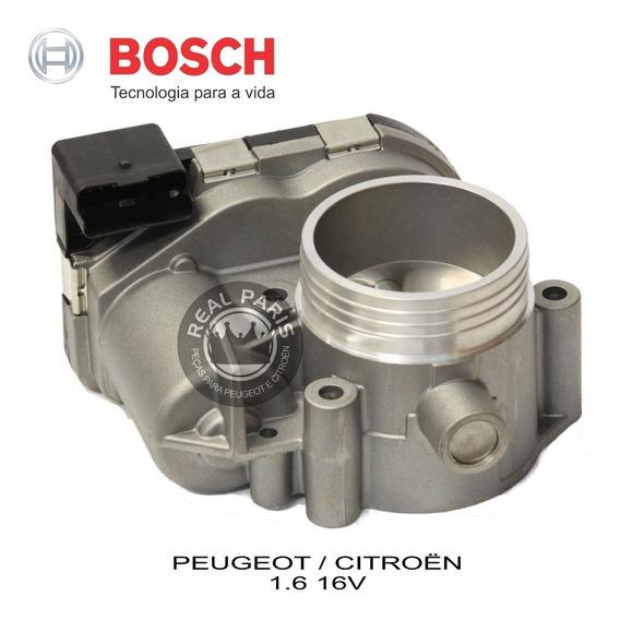 Corpo Borboleta Bosch Peugeot 206 207 307 308 C3 C4 1.6 16v