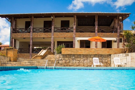 Casa Vista Mar Em Natal-rn - Rota Do Sol - Praia De Cotovelo