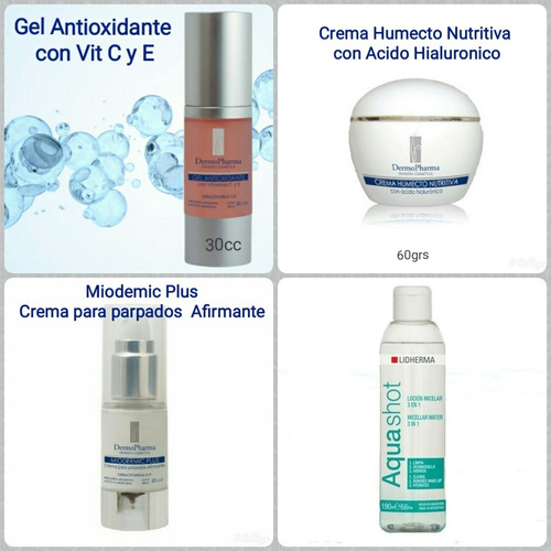 Kit X 4 Cremas Antiage Y Antioxidante- Envio Gratis!!