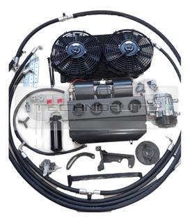 Kit Ar Condicionado Fusca Jeep Willys Puma Gurgel 20.000 Btu
