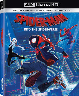 Spider-man Into The Spider-verse 4k Ultra Hd + Blu-ray Nuevo