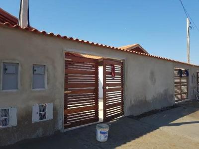 Casa Em Itanhaém Lado Morro Com 150m² Escriturado Ref 4484