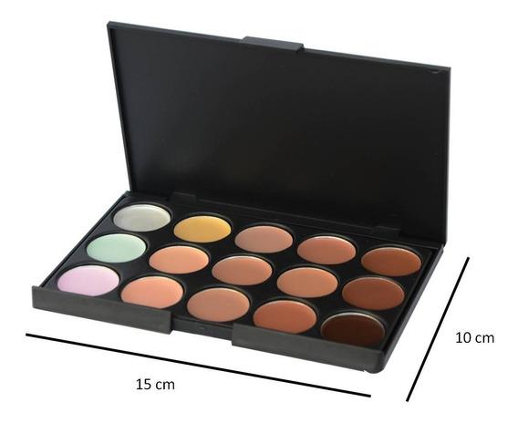 Paleta De Correctores 15 Tonos Mac Maquillaje Al Mayor