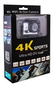 Camera Go Pro Cam Action Ultra 4k Sport Wifi Hd Prova Dágua