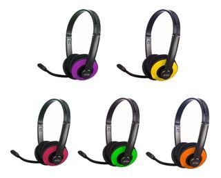 Auricular Gamer Overtech Icon 4 Iv Con Microfono Colores Pc