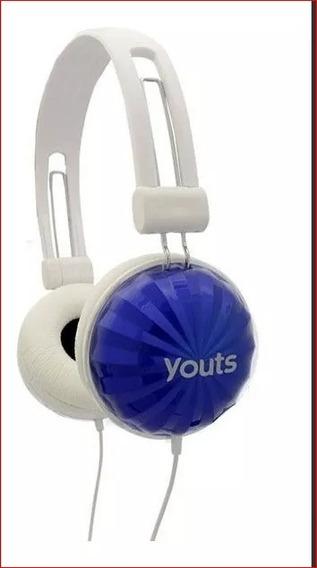 Headphone Stereo Yhd520 Com Redução De Ruídos