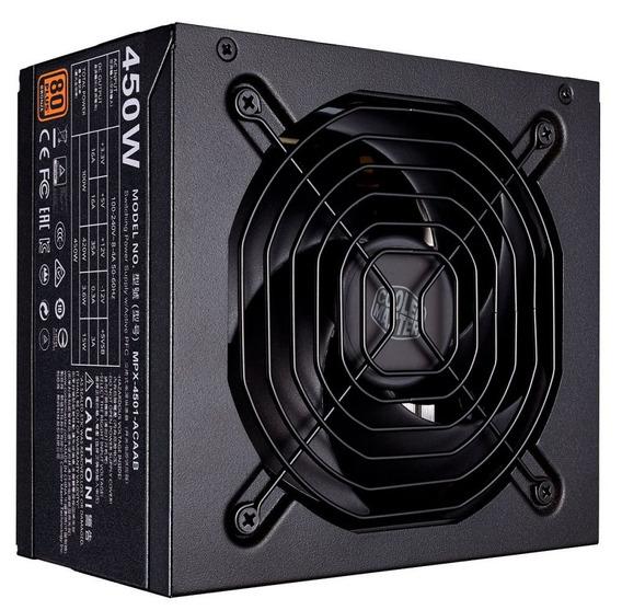 Fonte Atx Mwe 450w 80 Plus Bronze Cooler Master