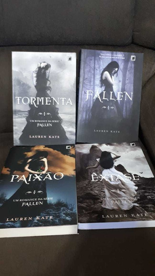 Livros: Fallen, Tormenta, Paixão, Êxtase - Lauren Kate