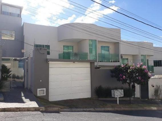 Casa Geminada Com 4 Quartos Para Comprar No Cabral Em Contagem/mg - 48061