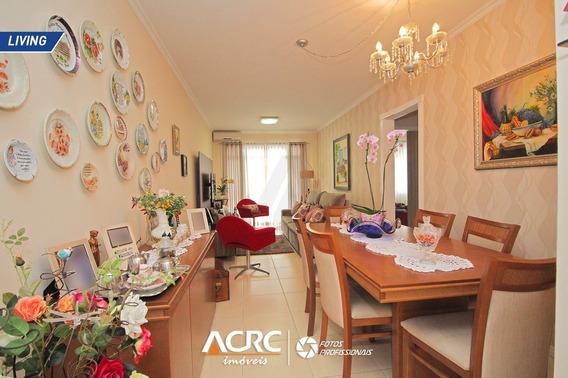 Acrc Imóveis - Apartamento Semi Mobiliado Com Sacada Para Venda No Bairro Centro Em Blumenau - Ap03598 - 68091454