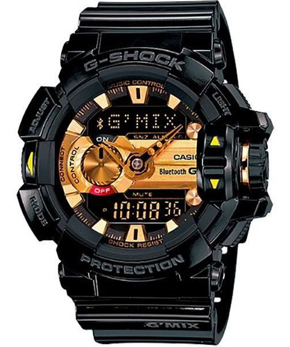 Relógio Casio G-shock G'mix Gba-400-1a9dr Bluetooth