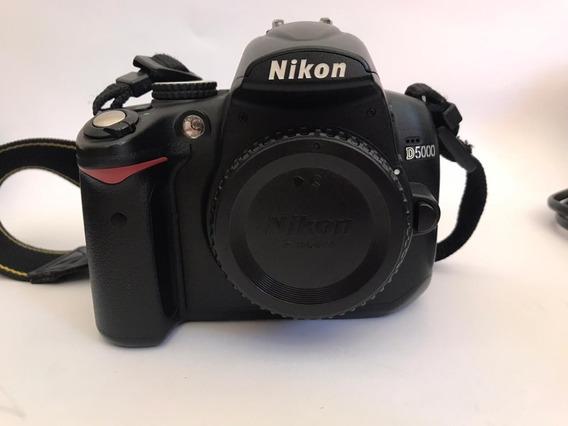 Nikon D5000 36k Cliks Lentes 18-55 E 70-300