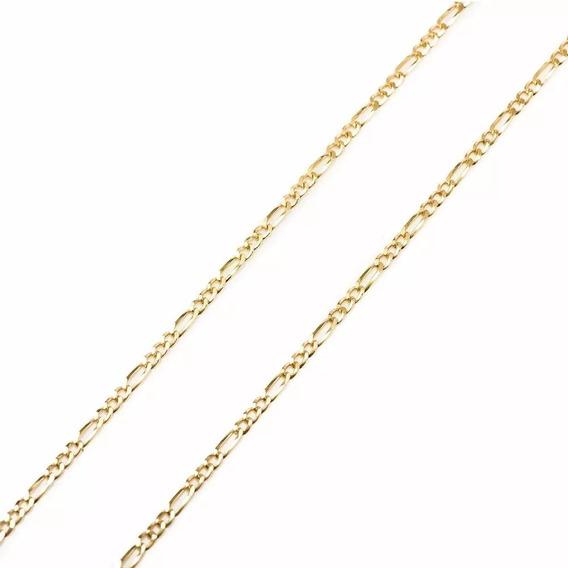 Cordão Folheado A Ouro 18k - 50 Cm (envio Por Carta 9,90 )