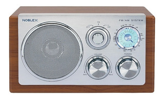 Noblex Rx40m Radio Am/fm Diseño Retro Vintage Box Madera 220