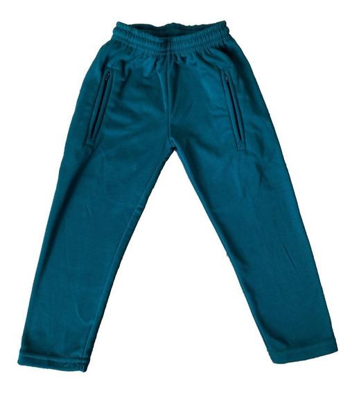 Pantalon Verde Escolar Acetato Frizado Niñaniño Talles 2/14