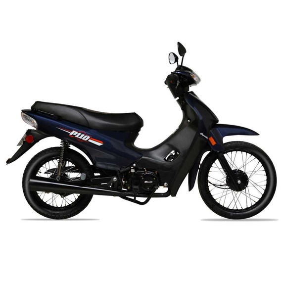 Baccio P110 Moto 0km 2020 Polleritas Con Baul Fama