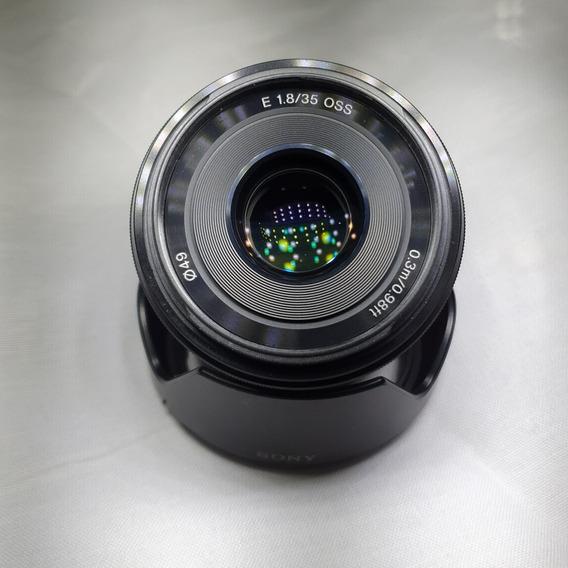 Lente Sony E 35mm F1.8 Oss