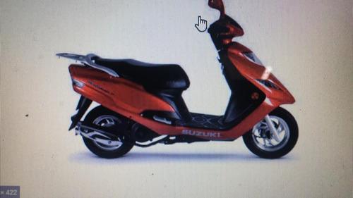 Suzuki Burgman 125 Sucata Em Pecas Ou Partes Consulte!!