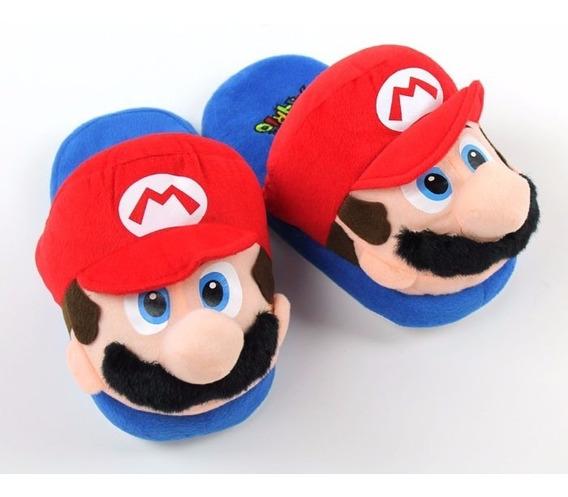 Linda Pantufa Mario 30/42 - Mario Bros Nintendo Frete Gratis