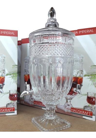 Suqueira Imperial Jarra 4.9 L Vidro Cristal