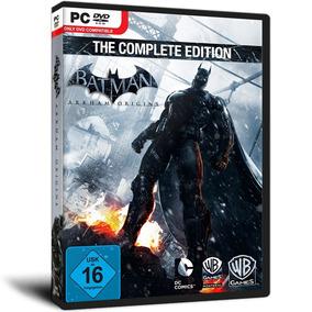 Batman Pc : Arkham Origins Complete Edition ( Mídia Física )