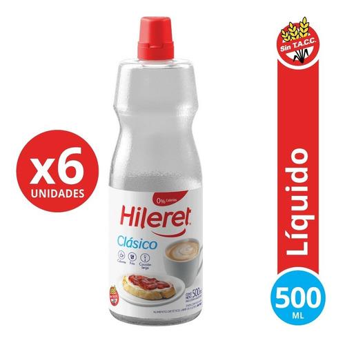 Endulzante Hileret Clásico 500 Ml. Pack X 6