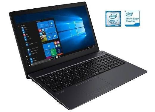 Notebook Vaio Fit 15s I7-7500u 8gb 1tb 15.6 Windows 10 Sl