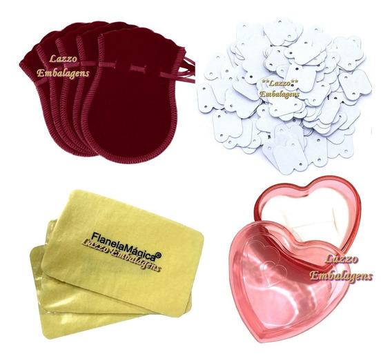 Kit Especial De Lindas Embalagens Para Joias Atacado Ref. 01