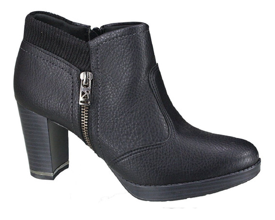 Bota Feminia Cano Curto Barato Piccadilly Ankle Boot 335034