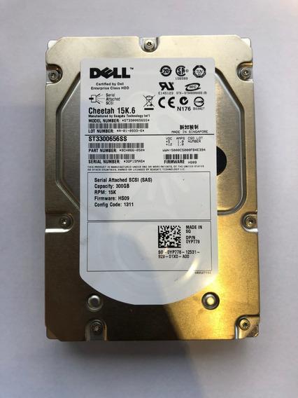 Hd Dell Sas 300gb 3.5 15k.6 St3300656ss