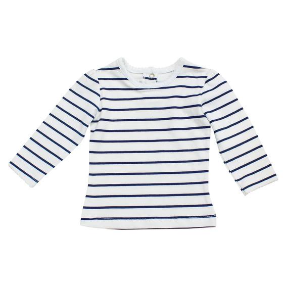 Camiseta Bebe Niña Rayas