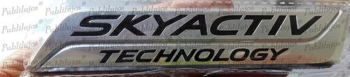 1 Emblema Skyactive De Mazda Homologado Envio Gratis