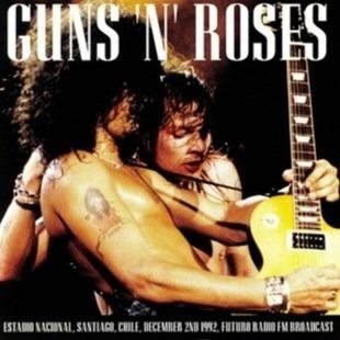 Vinilo Guns N Roses Stgo Chile Diciembre 1992 Nuevo Sellado