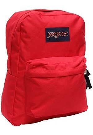 Mochila Jansport Superbreak T5015xp Rojo