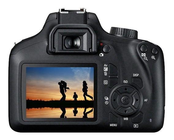 Câmera Digital Canon Semiprofissional 18mp - Eos Rebel T100