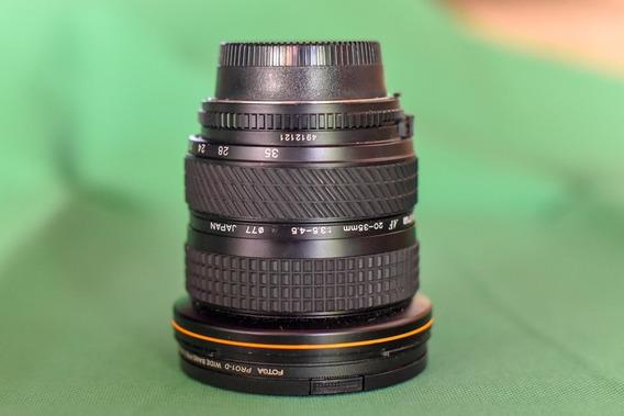 Lente Zoom Grande Angular Tokina Nikon Af 20-35mm 3.5/4.5