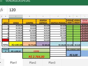Planilha De Gestão Financeira P/ Mercadinho
