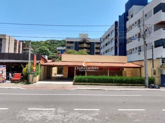 Casa Com 1 Dormitório Para Alugar, 247 M² Por R$ 8.000/mês - Cabo Branco - João Pessoa/pb - Ca0158